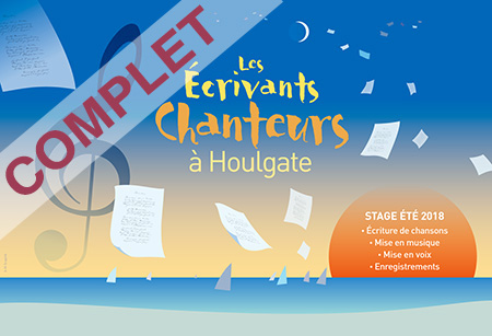 Stage Ecriture-Chanson Houlgate 2018